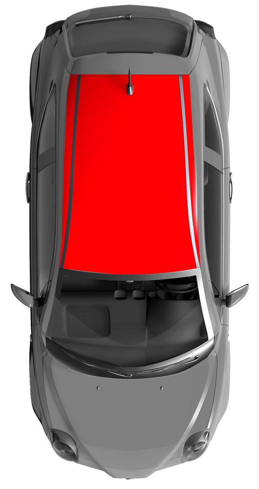 Folierung Dach Kleinwagen K Folia Perfekte Farbe Ohne Lack Zum